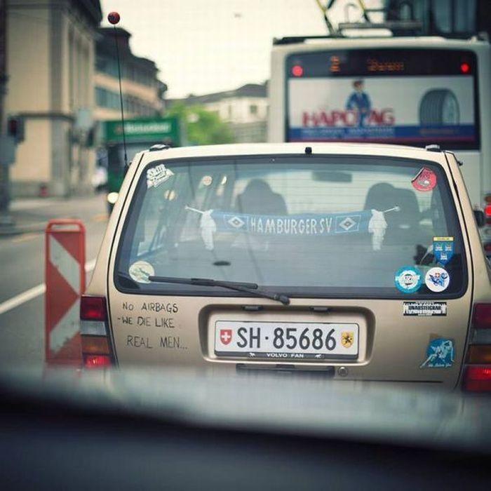 Фотоальбом авто, надпись, прикол, фанаты