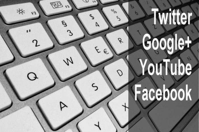 клавиатура, социальные сети, посещение, жизнь