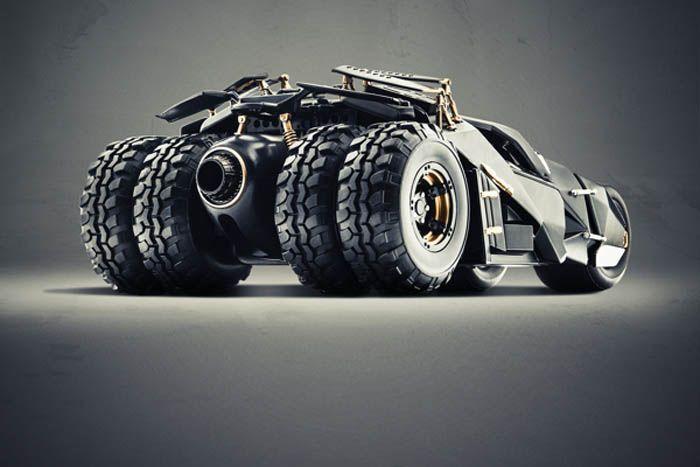 авто, бэтмобиль, супергерои,