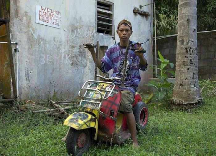 авто, мопеды, скутеры, индонезия,
