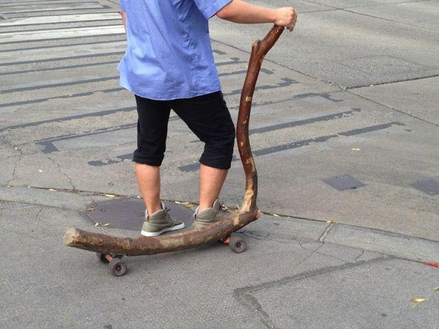Фото бревно, самокат, своими руками, скейт