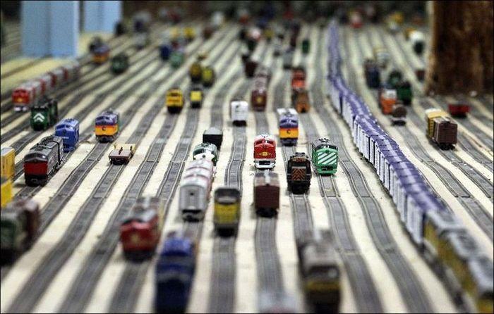 шедевр, строительство, железная дорога, модель