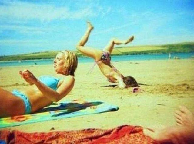 Бесплатно фото на лицо, падение, песок, пляж