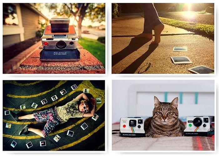 polaroid, фотоаппарат, эдвин лэнд