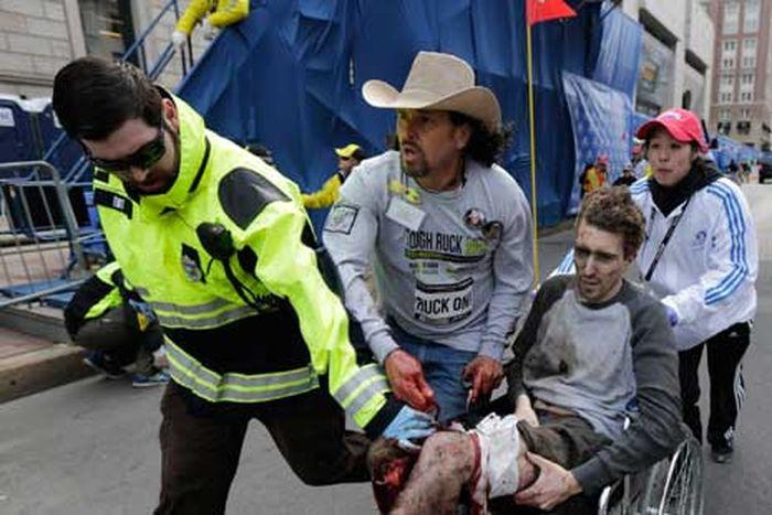 инвалид, джефф, протез, марафон, бостон,
