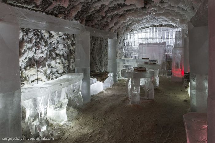якутск, музей, мерзлота, холод, лед