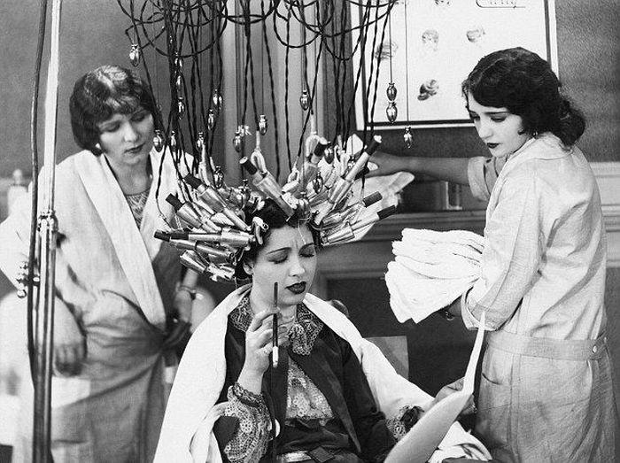 косметический салон, макияж, прошлое, красота