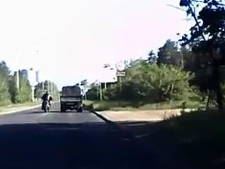 Погоня за мотоциклом