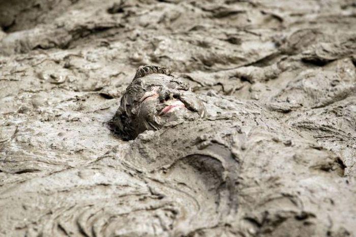 Красивые фото ванна, грязь, девушка, лицо