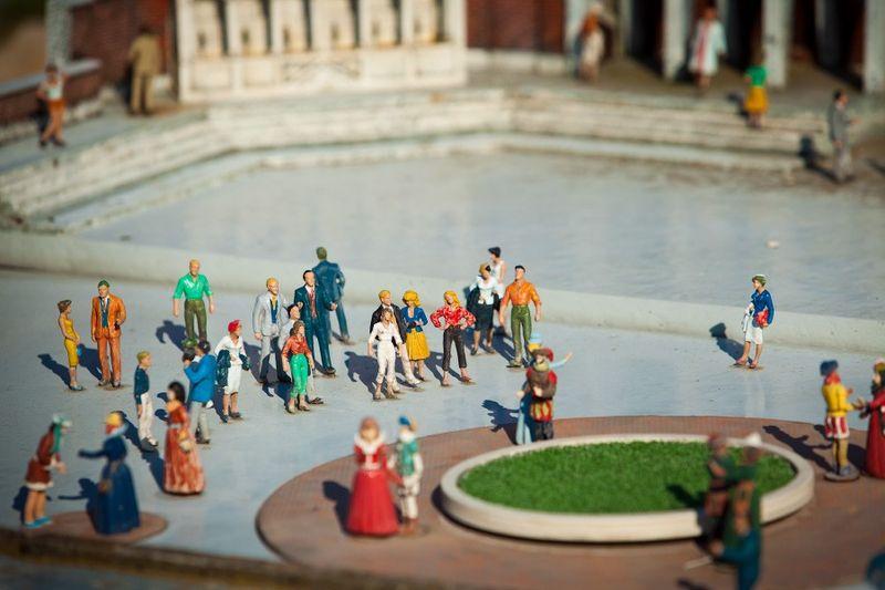 парк, миниатюра,