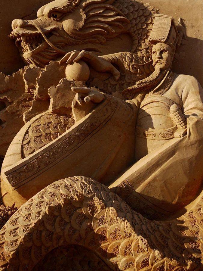 Esculturas de arena de Joo Heng Tan 5