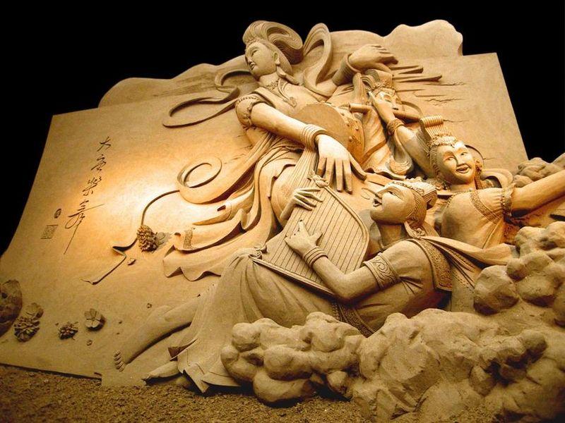 Esculturas de arena de Joo Heng Tan 6