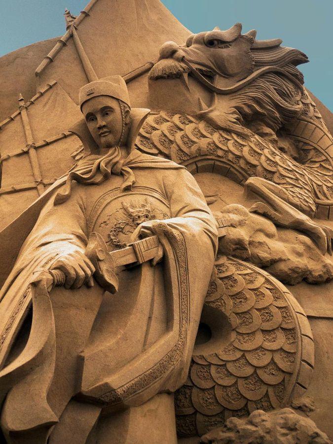Esculturas de arena de Joo Heng Tan 9