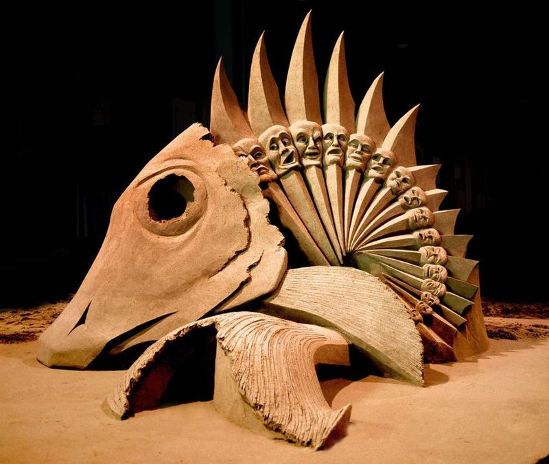 Esculturas de arena de Joo Heng Tan 11