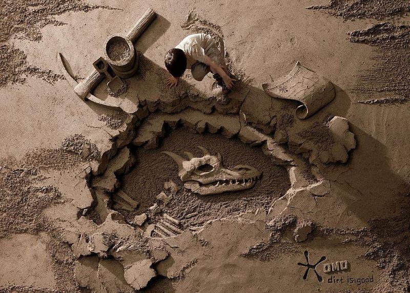 Esculturas de arena de Joo Heng Tan 13