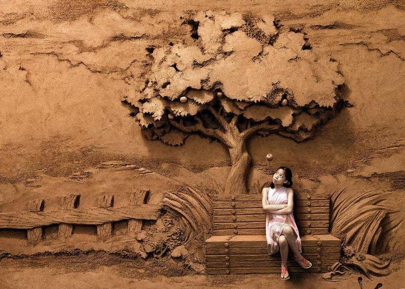 Esculturas de arena de Joo Heng Tan 14