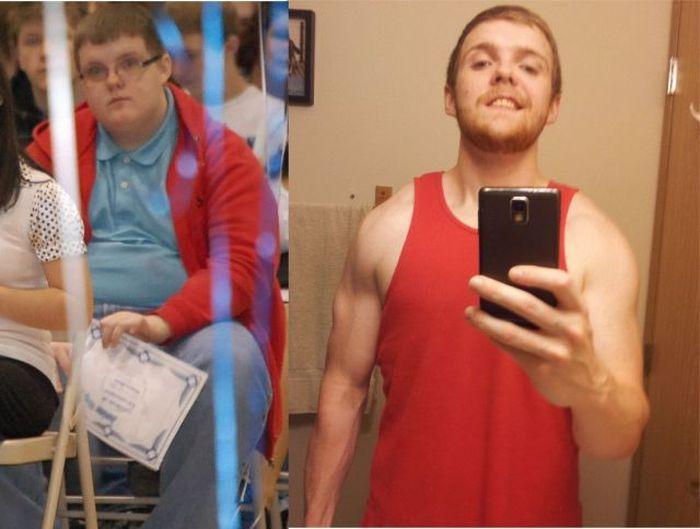 Фотоподборка мускулы, накачался, тогда и сейчас