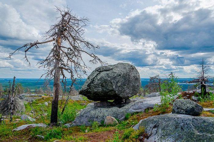 карелия, гора, природа