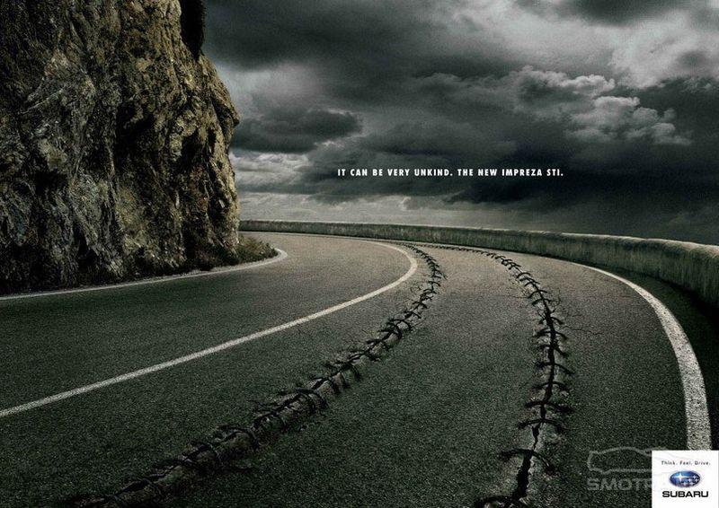 креатив, реклама, автомобиль,