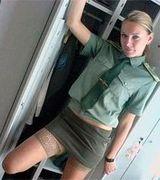 Откровенные фото в униформе