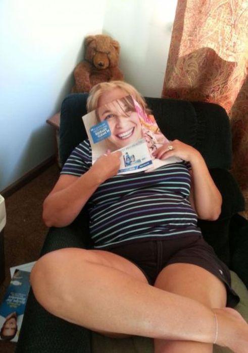 Бугагашеньки выражение лица, журнал, прикол
