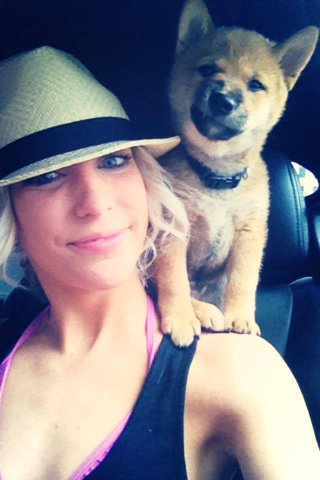 Смешная фотогалерея в машине, девушка, питомец, собака