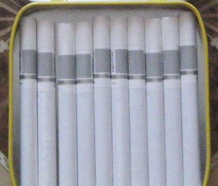 портсигар, подарок, сигареты