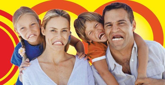 Фотоприкол бесплатно выражение лица, семья, улыбки