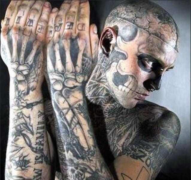 10 самых татуированных людей планеты 32