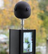 Видеокамера с полем зрения в 360 градусов
