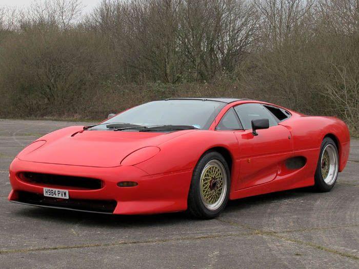 авто, jaguar xj220, prototype,