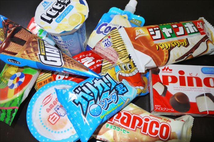 мороженое, япония