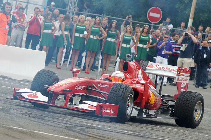 авто, moscow city racing, formula 1,