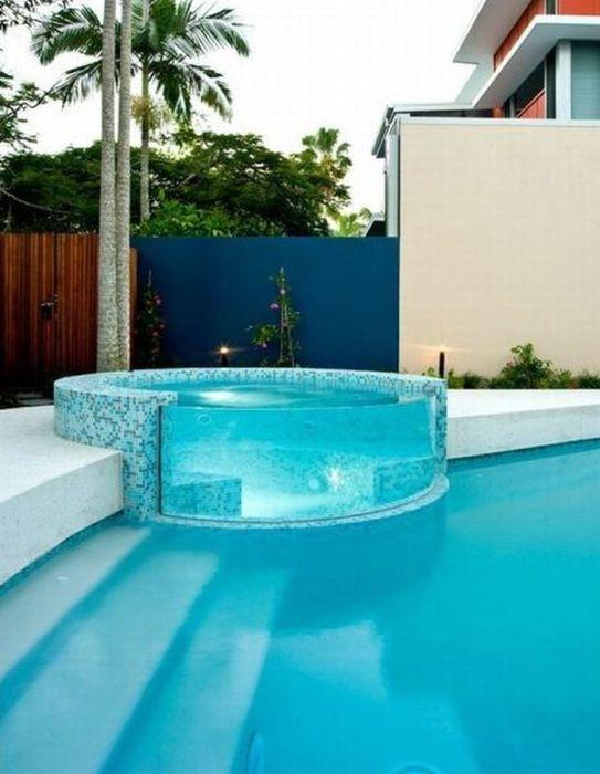 Фото онлайн бассейн, дом, интерьер, красота