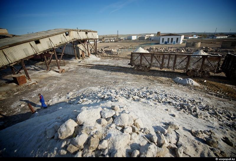 соль, добыча, казахстан