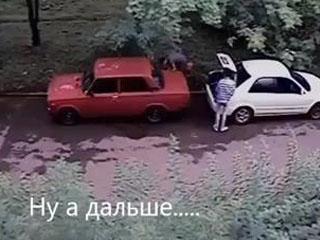 Кража бензина