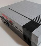 Приставка Nintendo из Lego