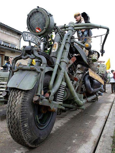авто, мотоциклы, мотоцикл, самый большой,