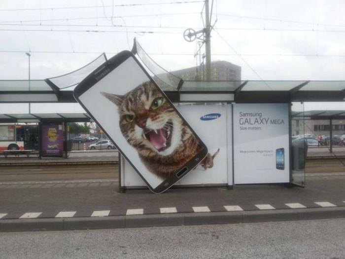 Бугагашеньки кот, реклама, самсунг, телефон