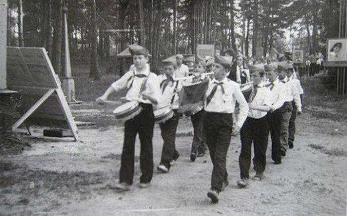пионер, отряд, поход, лагерь, лето