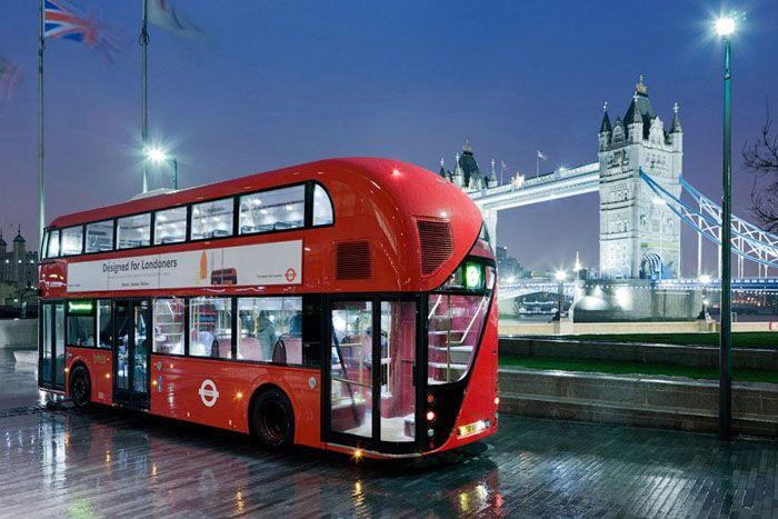 авто, лондон, автобус, даблдекер