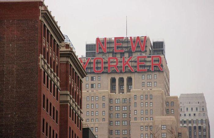 мегаполис, нью йорк, улица