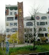 Странная архитектура Фриденсрайха Хундертвассера (5 фото)
