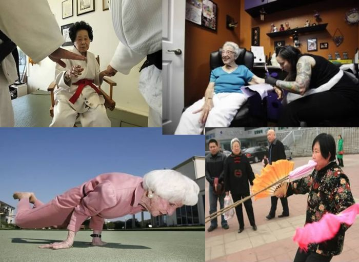 бабушка, порох, сила