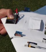 Летающий дрон-трансформер