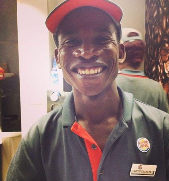 Фото онлайн бургер кинг, макдоналд, темнокожий
