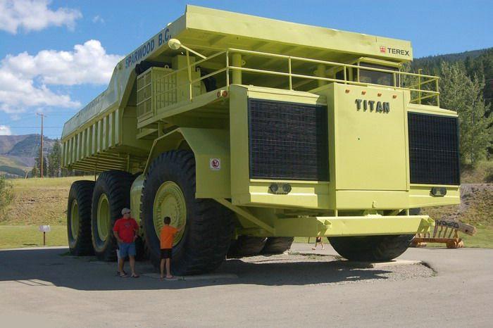 Самый большой грузовик фото