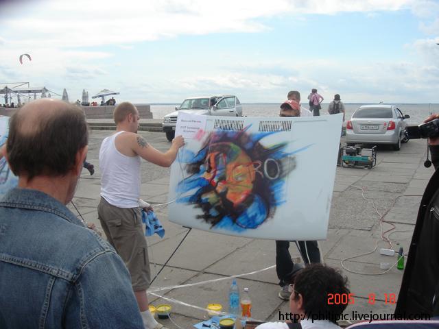 Фестиваль аэрографии в Питере (34 фото)