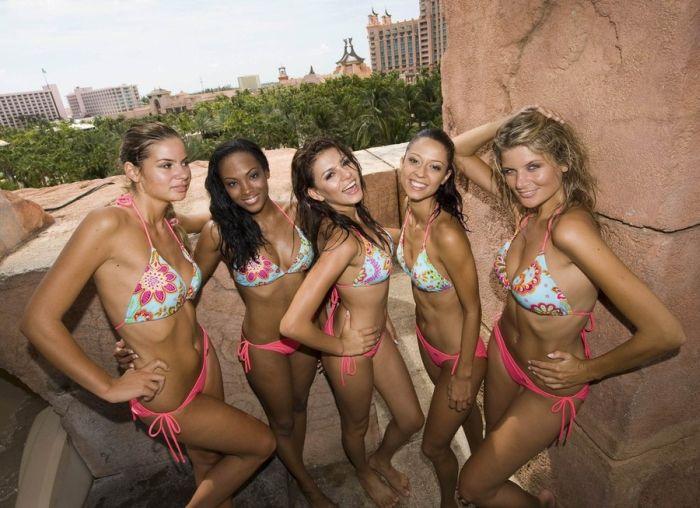 Мисс Хорватия, Мисс Кюрасао, Мисс Эквадор, Мисс Канада, Мисс Чехия.