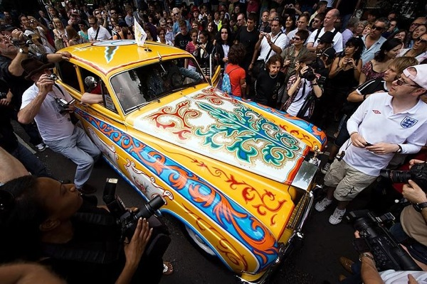 Поклонники Beatles отметили 40-летие Abbey Road